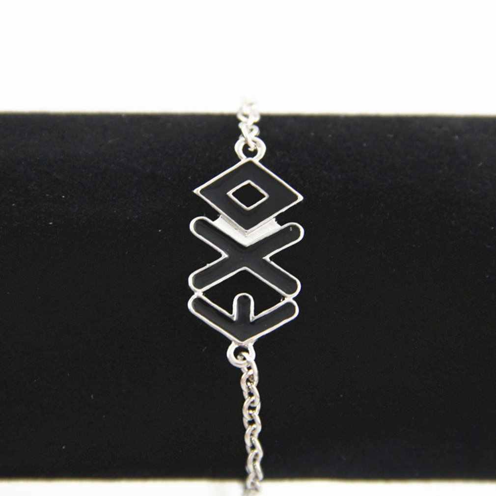 Kpop Accessories Bracelet Alloy Letter EXO Bracelet Alloy Wristband Perfect Gift for Star Fans Ornament