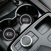 Car-Decoration Ceed Sportage Non-Slip Coaster for KIA Sorento Epoxy Pvc Silicone