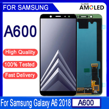 """5.6""""Original Super AMOLED For SAMSUNG Galaxy A6 2018 A600 A600F A600FN LCD Display Touch Screen Digitizer Assembly Parts"""