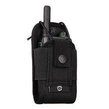 Borsa multifunzionale borsa tattica a tre colori borsa per accessori multicolore borsa per sport all'aperto in nylon può contenere walkie-talkie
