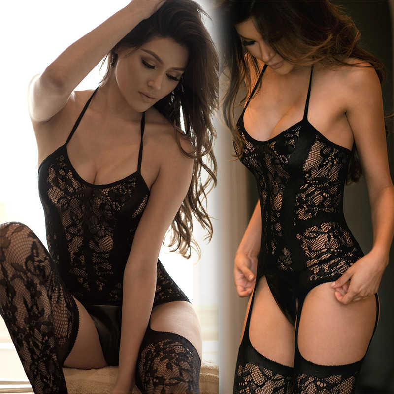 Sexy Lingerie Porno Plus Size Vrouwen Erotische Lingerie Babydoll sexy kostuums Ropa Interieur Mujer Sexy Erotica Lenceria Mujer QQ289