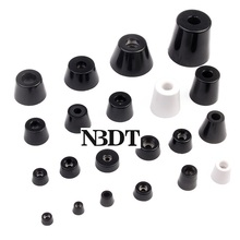 Pad Washer Rubber Bumper-Spacer Black 100pcs/Lot White with Furniture Electronics-Appliances-Instrument