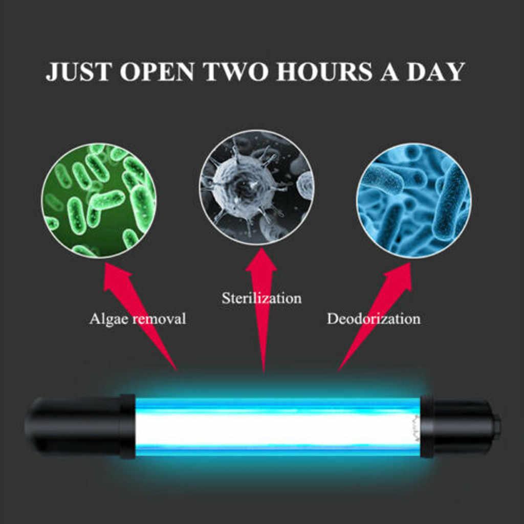 УФ-светильник для аквариума и дайвинга, лампа-стерилизатор для аквариума, светильник-стерилизатор для аквариума, погружной светильник для очистки воды, лампа для аквариума