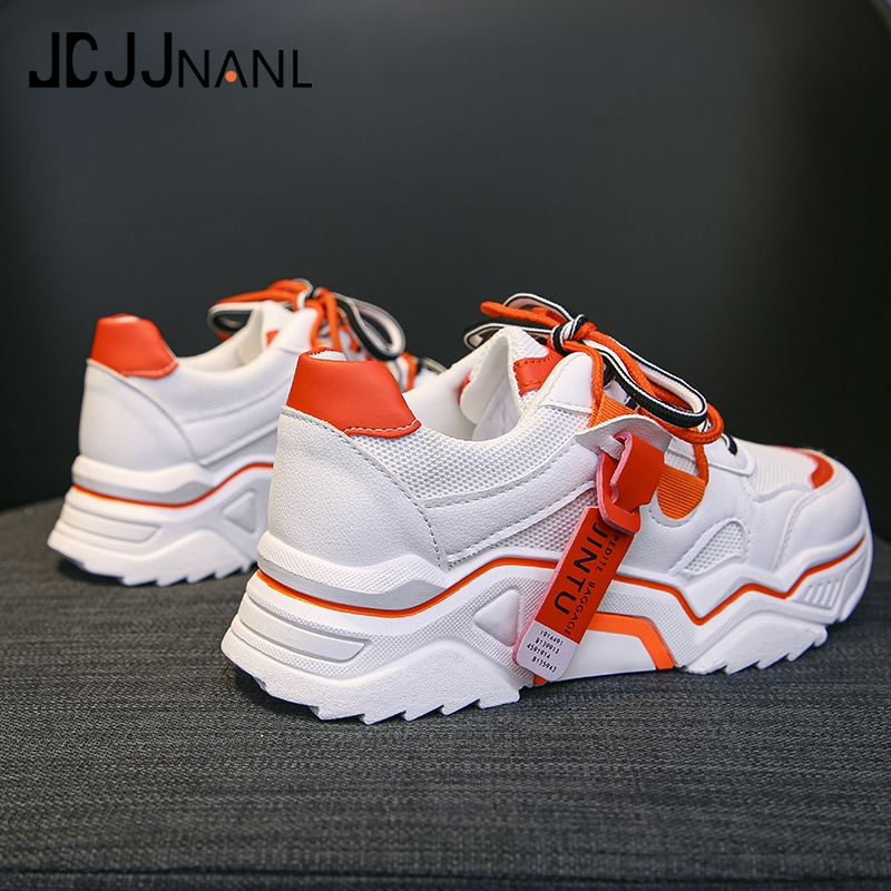 JCJJNANL Winter Shoes Woman Split Leather Warm Shoes Fur Female Casual Sneakers Platform Sneakers Tenis Feminino Autumn Chunky