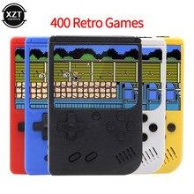 Console di gioco retrò Mini portatile portatile classico 400 giochi Pad Controller per lettore di macchine LCD a colori da 3 pollici maniglia singola/doppia
