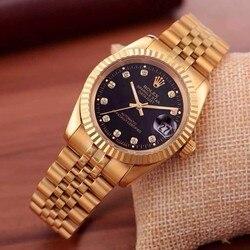 Relógio de pulso de aço inoxidável relógio de pulso de aço inoxidável de aço inoxidável