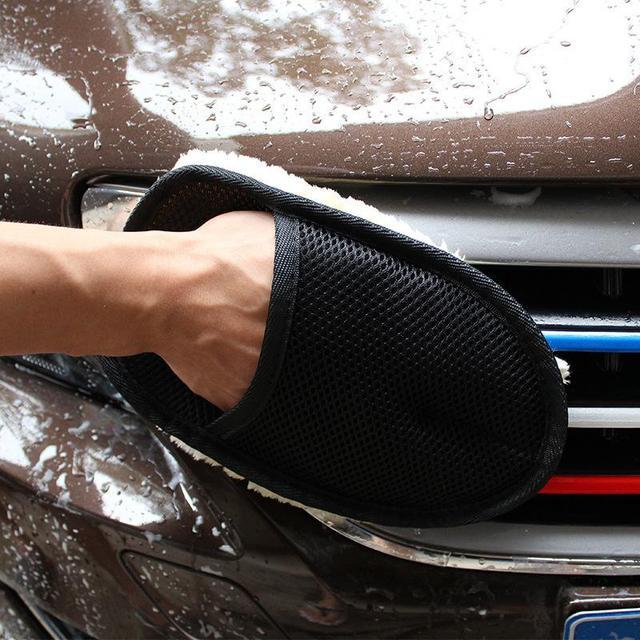 Brosse nettoyant pour les voitures | Brosses de polissage, brosse pour mittes, laine Super propre, gant de lavage automatique, brosse douce, dépoussiérage et épilation