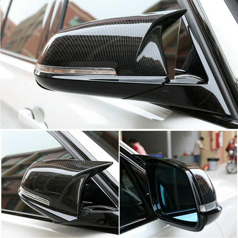 2 шт., крышки для зеркала заднего вида Bmw 5 6 7 Series F10 F18 F11 F06 F07 F12 F13 F01 2014 -2016