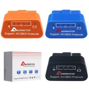Image 2 - Wifi Bluetooth ELM327 OBD2 II herramientas de diagnóstico de coche para Infiniti Suzuki Subaru AMG Mercedes Benz DE LA CIA W204 W210 W221 W211 escáner