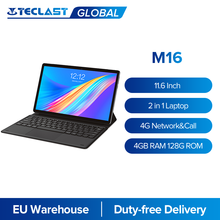 Teclast M16 11.6 Inch Android Tablet Pc Deca Core 4Gb Ram 128G Rom 4G Netwerk 5.0MP Docking type-C 7500Mah Gps Dual Wifi