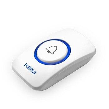 Kerui беспроводная кнопка паники беспроводной дверной звонок Аварийная кнопка для домашней сигнализации система безопасности аварийный зво...