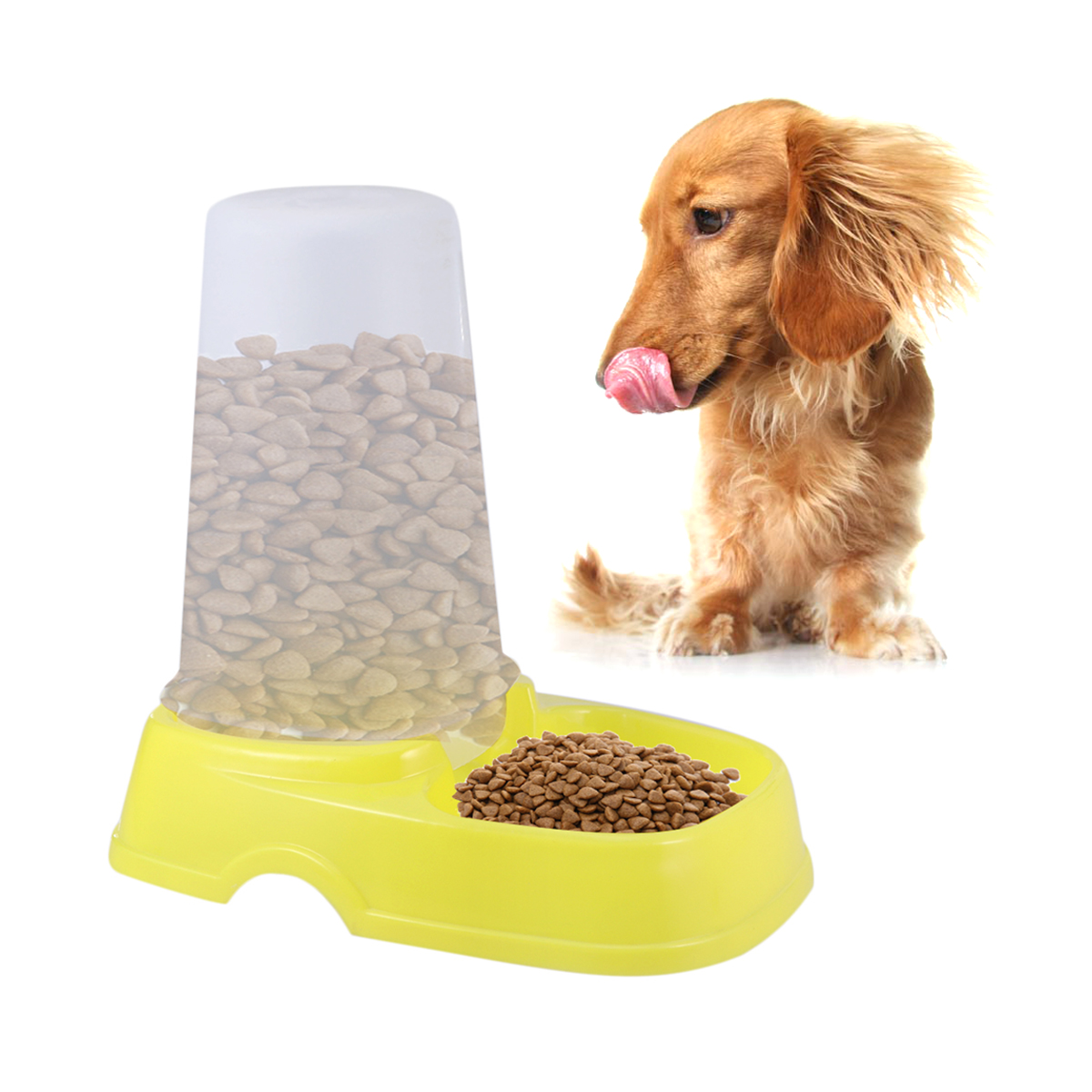 Automatic Pet Feeder food Dispenser Cat Dog Drink Food Dispenser Pets Dogs Cats Automatic Feeders For