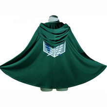 Capes Cloak Cosplay Costume Shingeki Anime Attack Scouting Legion Titan No-Kyojin Aren/levi
