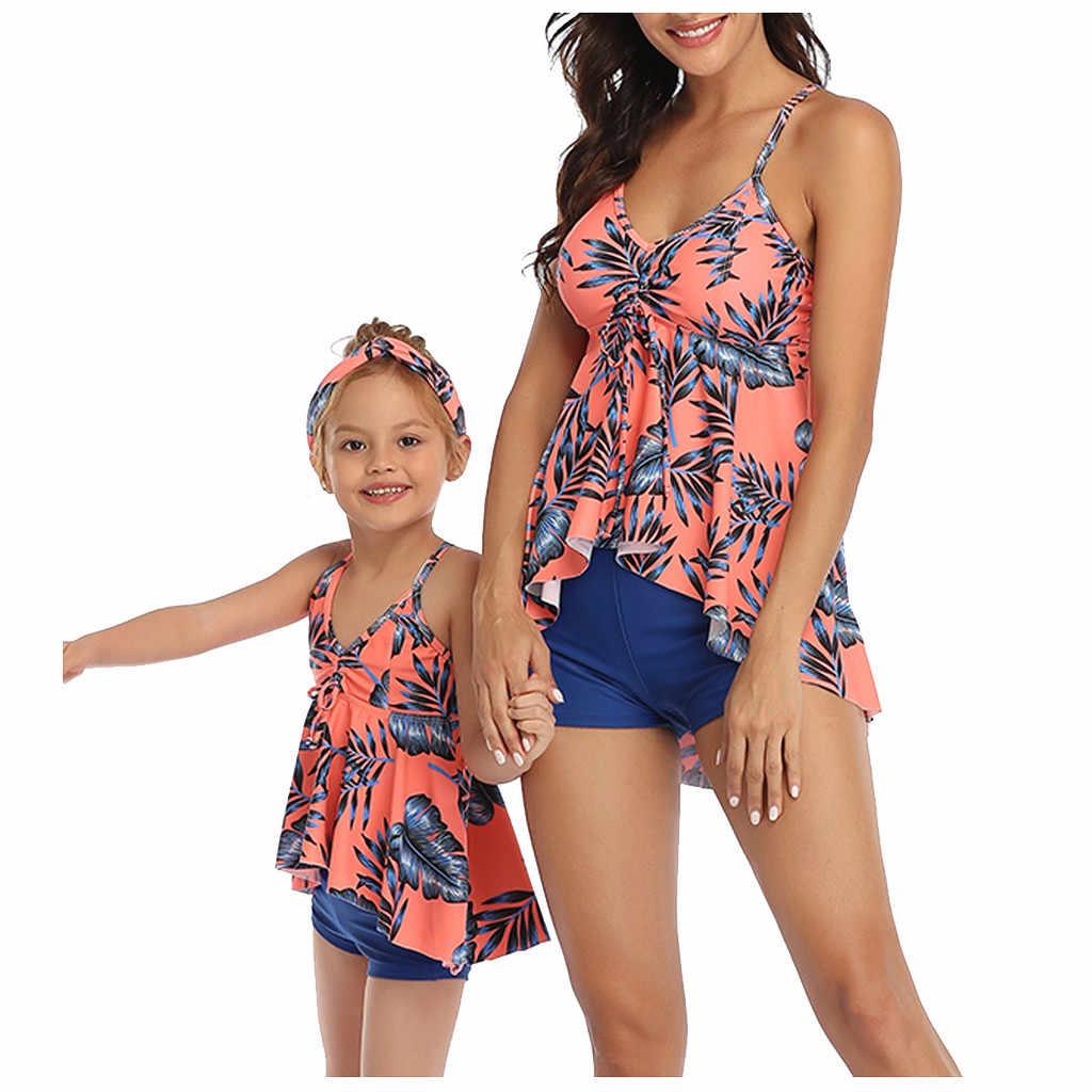 Купальный костюм для мамы и дочки; Купальный костюм «Мама и я»; Бикини; Одинаковая одежда для семьи; Одежда для мамы и ребенка; Одежда; # g3