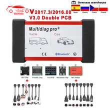 USB OBD Truck-Scan-Tools Car-Diagnostic-Tool Auto-Scanner Bluetooth Multidiag Pro