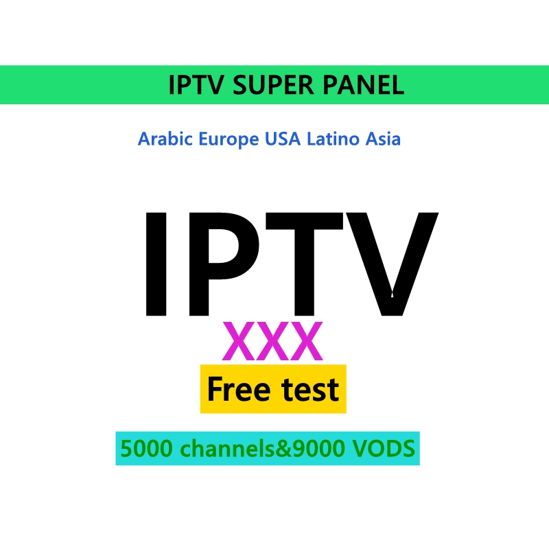 IPTV Arab German Iranian Pakistani German Greek 5000 + Live 9000 + VOD Adult XXX  1/3/6/12 Months IPTV Subscription