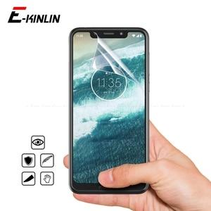 2 шт./лот HD мягкий дисплей нано Взрывозащищенный протектор экрана Защитная пленка для Moto One Zoom P30 Play Z4