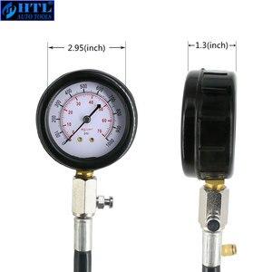 Image 3 - Automotive Werkzeuge TU 15A Diesel Engine Compression Tester Kit Motor Manometer 0 ~ 1000psi
