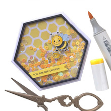 JCarter Clear Rubber Stamps Scrapbook Enjoy Thing Bee Silicone Seals Craft Stencil Album Card Make Decoration Sheet 2019