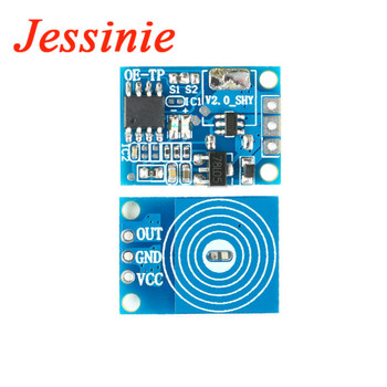 OE-TP Capacitive Touch Button Light Switch Module Digital Touch Sensor LED No Pole Dimming DC 5V to12V 20V 10A Drive For Arduino image