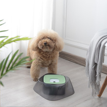 Floating pet dog bowls that do not wet the cats mouth bowl without spillage of drinking water puppy feeder portable plastic