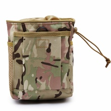 Military Molle Tactical Gun Magazine Dump Drop Pouch Utility Army Accessories Waist Pack Bag Hunting Airsoft Rifle Ammo Mag Bags new tactical military hunting small utility pouch pack army molle cover scheme field sundries bags outdoor sports mess briefcase