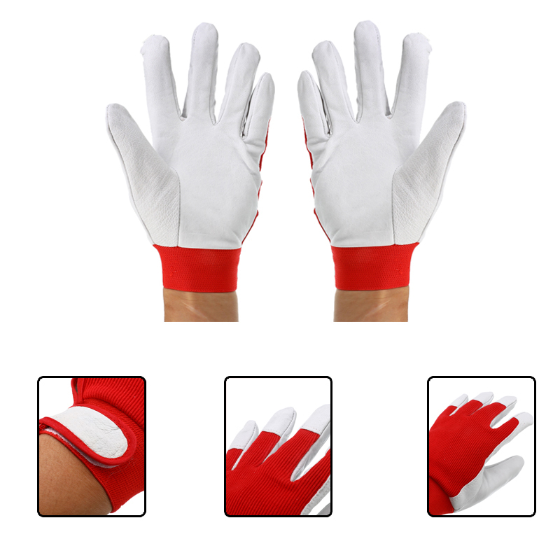 Finger Weld Monger Welding Gloves Work Industrial Heat Shield Cover Safety Guard Protection For Laboratory Factory Home