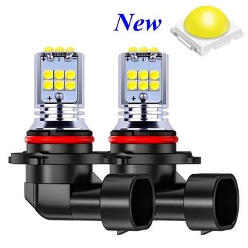 2 sztuk H8 H11 H10 H16 5202 PS X 24W 9006 HB4 9005 HB3 PY24W P13W 1800LM żarówki LED światła przeciwmgielne samochodu Auto lampy drl biały żółty 12V 24V tanie i dobre opinie RAISE STAR 12 v CN (pochodzenie)