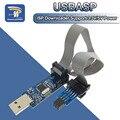 Плата адаптера с 10Pin на 6 Pin + USB программатор USBASP USBISP AVR ATMEGA8 ATMEGA128 ATtiny/CAN/PWM 10Pin, модуль провода DIY, 1 комплект