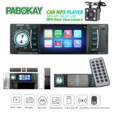 4.1 polegada de áudio do carro mp5 player rádio fm 1din autoradio bluetooth auto estéreo mp4 4.1 polegada
