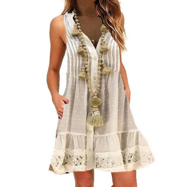 fun fling dress, great buttun down style 2