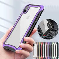 For Motorola Moto One vision Shockproof Heavy Duty Hybrid Silicone Hard Armor Tough Phone Case For Moto G7 Power E5 Cover Capas