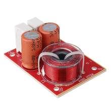 WEAH D224 80W 2 웨이 스피커 크로스 오버 4 8 옴 스피커 액세서리에 대 한 높은 낮은 주파수 분배기 음질 업그레이드 도구