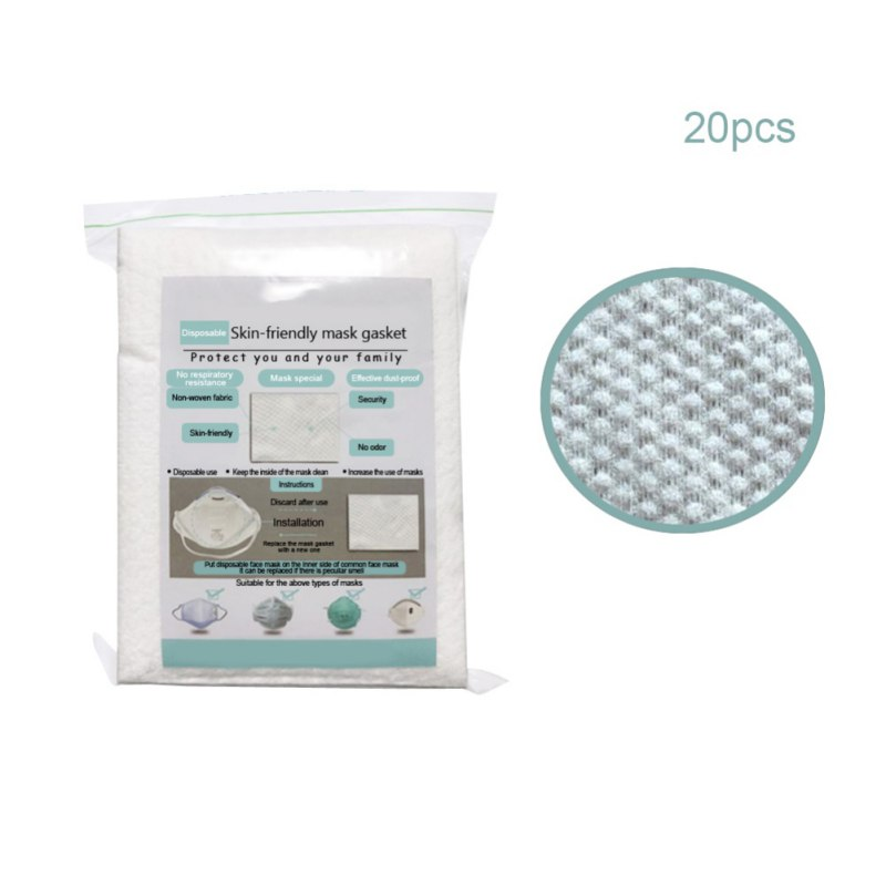 10/20/50pcs Air Mask Fiters Anti Dustproof Filter Disposable Mask Pad PM2.5 Masks Protective Breathable Replaceable Filter 6