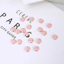 A--Z26 Letter/Set 10mm Round Letter Pendant Initial Beads Alloy Accessories Double-sided Suitable for Bracelet Ne