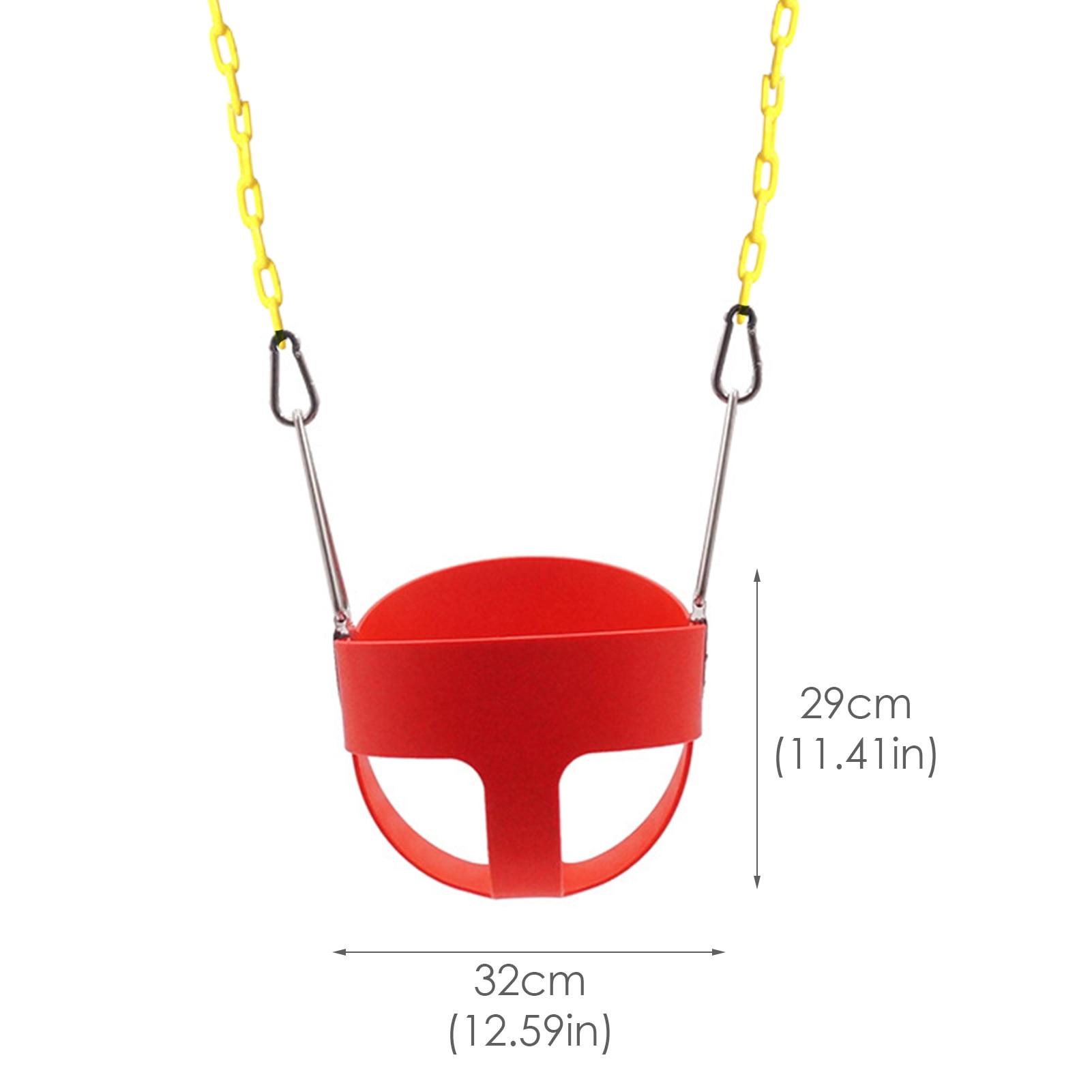 Assento do balanço da corda com correntes