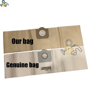 Image 2 - Dust Bag for Karcher WD3 bags WD3.500P SE 4001 A2204 6.959 130 WD5.800  WD3.800 M WD 3.200 dust bags