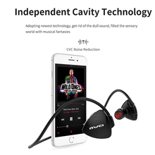 AWEI  Sport Bluetooth 4.2 Stereo Earpiece Waterproof NFC Neckband Headset With Mic For Universal Phones Earphones for ios