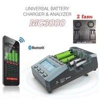 SKYRC-cargador de batería MC3000, dispositivo con bluetooth, APP inteligente, Control inalámbrico, Universal, recargable, 18650 aa, LiFePO4, lipo