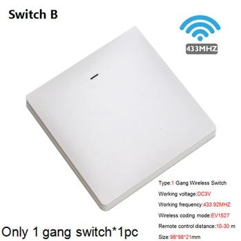 WiFi RF DIY Wifi Smart Switch Tuya Smart Breaker Wireless Switch Controller Light RF 433Mhz Wall DIY Relay Timer 16