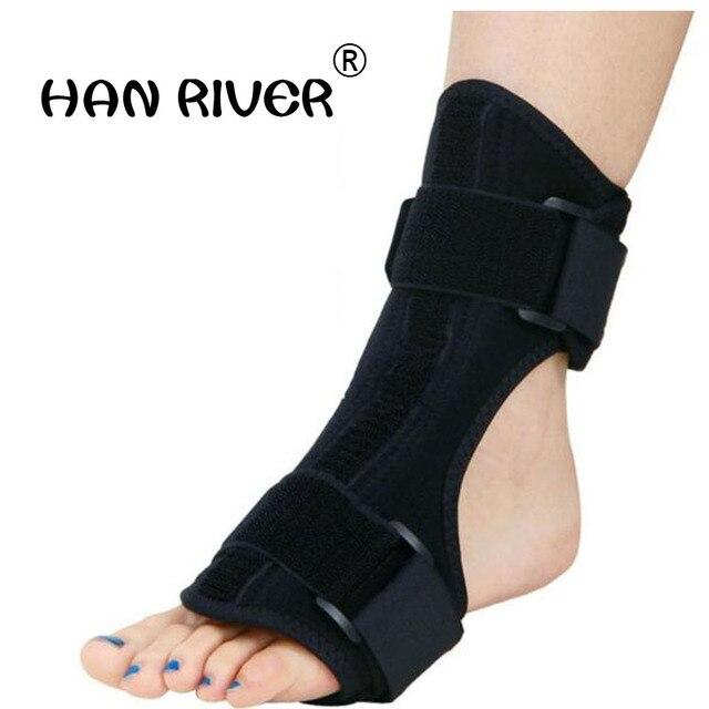 A gota do pé orthoses tornozelo apoio ortopédico parcial dia e noite com engrenagem de apoio suficiente entrou em colapso na recuperação 1