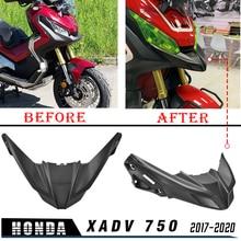 Capa para roda frontal de motocicleta, para motos honda xadv 750 x adv xadv750 2017 2020 2019 cowl de extensão do cone