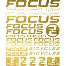 Kit compatível para foco quadro de bicicleta decalques vinil adesivo conjunto mountain bike mtb bmx estrada