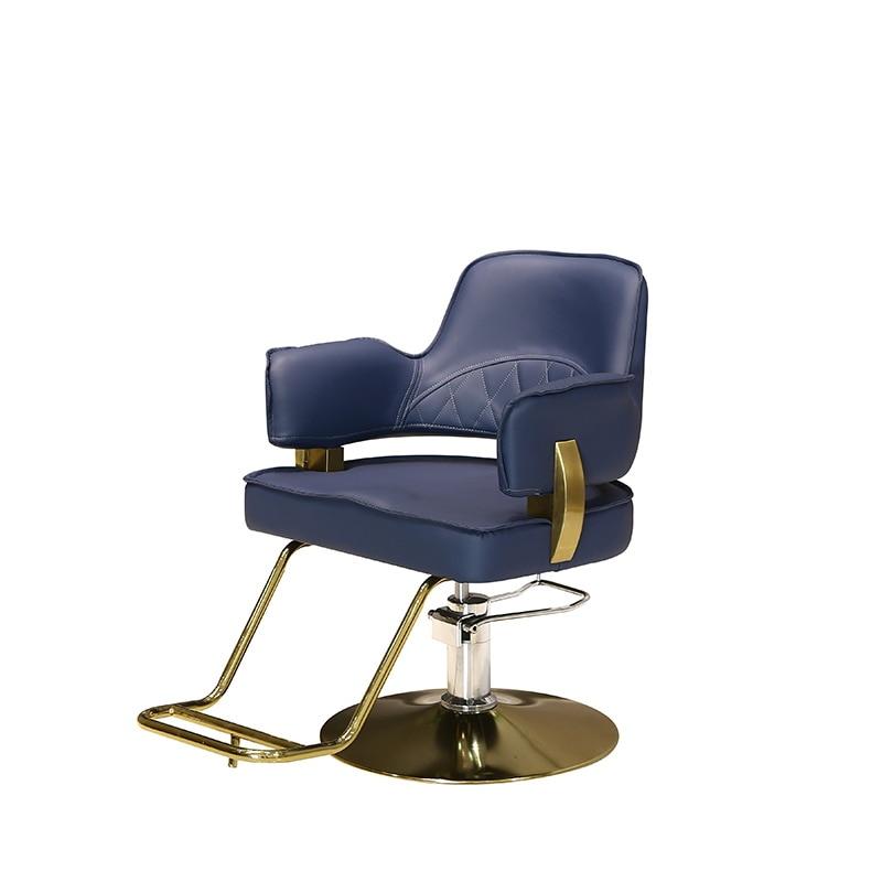 New Hot Barber Shop Chair Ins Hair Chair Hair Salon Special Haircut Chair Lift Rotary Stool