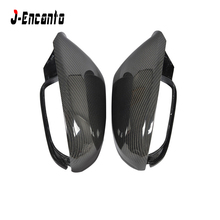 1:1 Replacement for Audi A6 C7 S6 RS6 2012 2013 2014 2015 2016 Carbon Fiber Mirror Covers Rear View Without Lane Change Assist