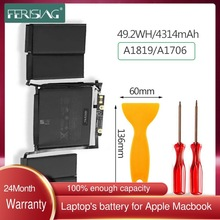 FERISING 49.2Wh Original A1819 New Laptop Battery For Apple Macbook Pro 13'' inch A1706