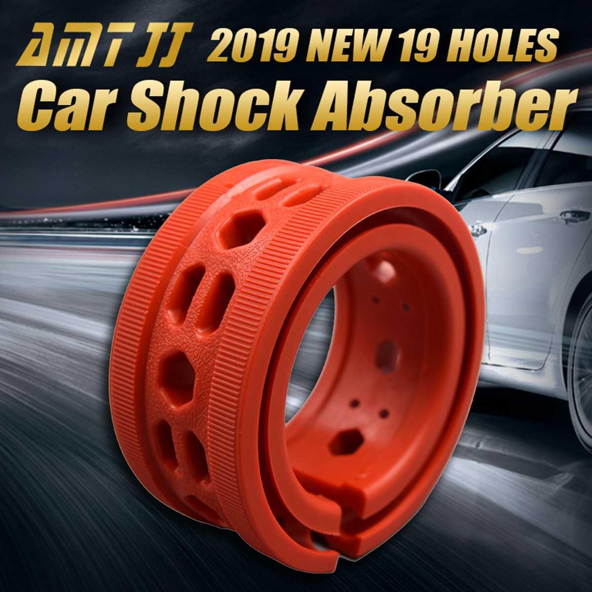 Absorbente de choque de coche 2 piezas para el parachoques de resorte de amortiguación de coche A/A +/B + /C/D/E/F tipo muelles amortiguadores Universal