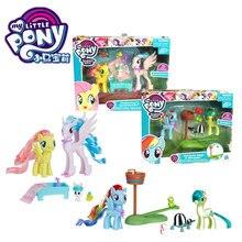 Hasbro My Little Pony Friendship Rainbow Girl Play House Doll Toy Kids Gifts my little pony 22cm toy stuffed pony toy doll pinkie pie rainbow dash movie