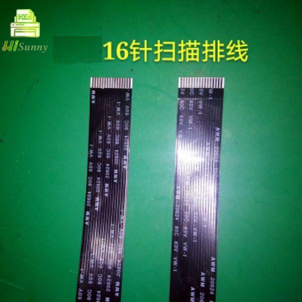 10 pces 16 pinos para o cabo do varredor de xerox cm225fw cm228fw