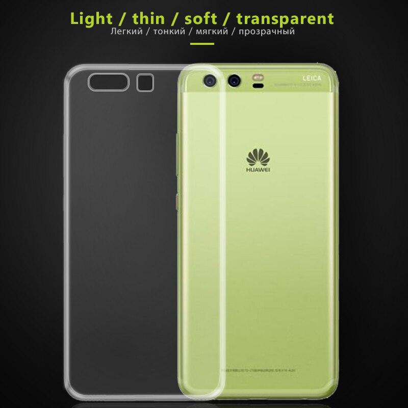 Para honor 8X9 pro 10 i lite 20 9i transparente suave TPU funda de silicona para huawei Y6 Pro Y7 Prime 2019 Y9 carcasa de teléfono